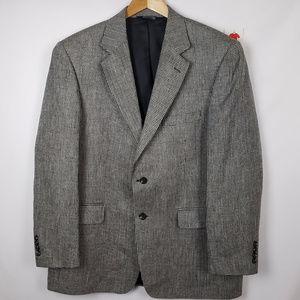 Stafford Mens 2 Button Silk Blazer Sports Jacket